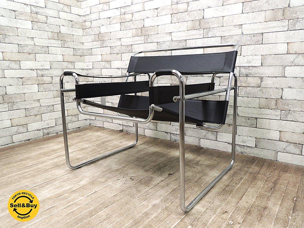 ワシリーチェア バウハウスの巨匠 マルセルブロイヤー デザイナーズ家具 モダニズムデザイン リプロダクト品 ●