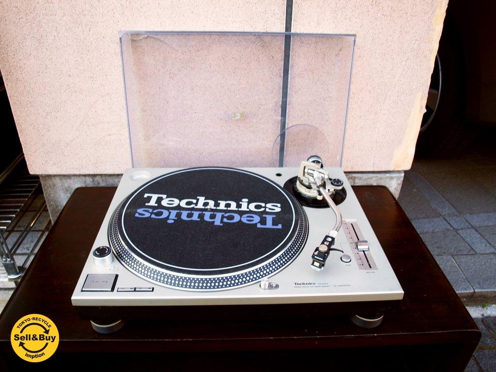 テクニクス Technics SL-1200MK3D ターン テーブル レコード プレーヤー カバー付き DJ 音響 機器 B ★