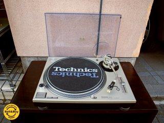 テクニクス Technics SL-1200MK3D ターン テーブル レコード プレーヤー カバー付き DJ 音響 機器 A ★