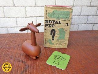 ロイヤルペット ROYALPET 木製玩具 シカ DEER 箱付き ■