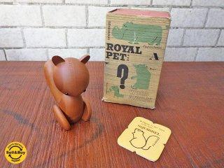 ロイヤルペット ROYALPET 木製玩具 リス SQUIRREL 箱付き ■