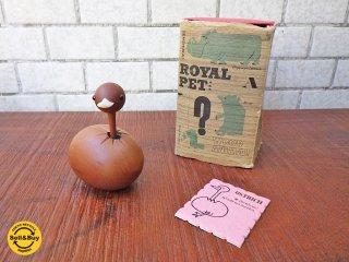 ロイヤルペット ROYALPET 木製玩具 ダチョウ OSTRICH 箱付き ■