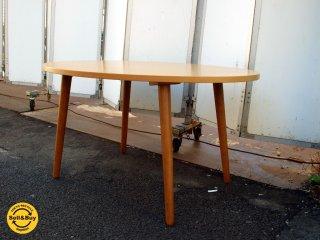 ウニコ unico アルベロ ALBERO 廃番 カフェ ダイニング テーブル チーク材 北欧スタイル ★
