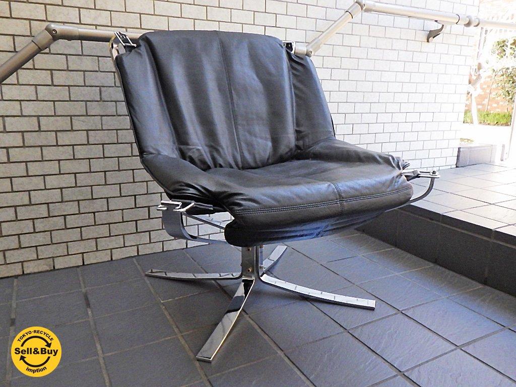 バットネ VATNE ファルコンチェア ラックス Falcon Chair LUX ローバック lowback メタルフレーム シガード・レッセル Sigurl Resell ノルウェー ■
