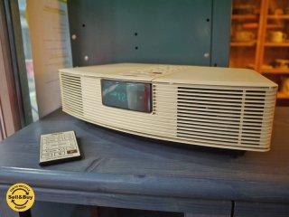 ボーズ BOSE ウェーブラジオ Wave Radio MODEL AWR1-0W リモコン付 ◎