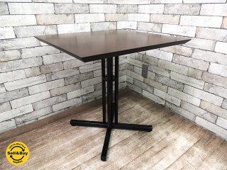 エーフラット a.Flat カフェテーブル V04タイプ ロースタイルなテーブル 木製天板 鉄脚 アジアン家具 B ●