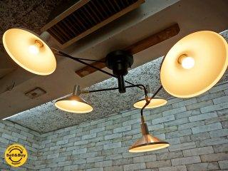 インターフォルム interform ロアノーク ROANOKE シーリングライト 5灯 ホワイト 照明 ●