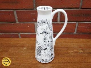 アラビア ARABIA エミリア Emilia フラワーベース 花瓶 一輪挿し ライヤ・ウオシッキネン ●