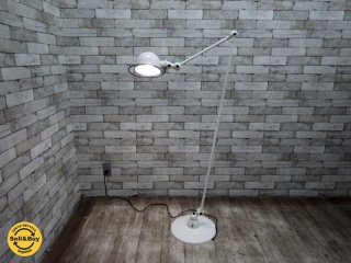 ジェルデ Jielde 1240 フロアランプ フランス 希少 正規ランプカバー & 新品 LEDエジソン電球 ●