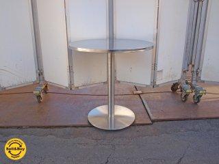 CB2 ウォーターマーク ビストロ テーブル watermark bistro table  マーク・ダニエル デザイン ステンレス製 屋外使用可 USA ★