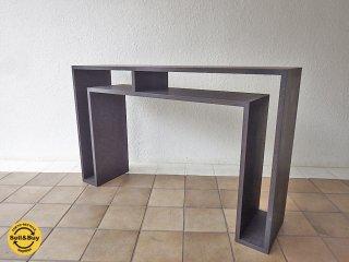 アボード abode ショウジ SHOJI ラージ コンソールテーブル large console table 飾り棚 ◇