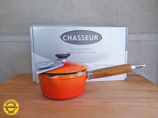 シャスール CHASSEUR ソースパン 箱付き 未使用 フランス ♪