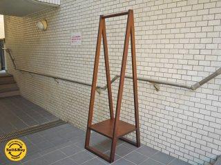 無印良品 MUJI バーチ材 コートハンガー 幅42 ブラウン 廃盤 ■