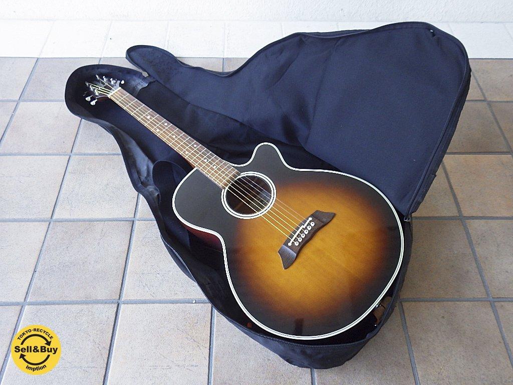 タカミネ TAKAMINE エレクトリック アコースティック ギター エレアコ PT-106 ケース付 ◇