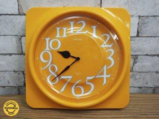 セイコー SEIKO レトロポップ ウォールクロック 掛け時計 ●