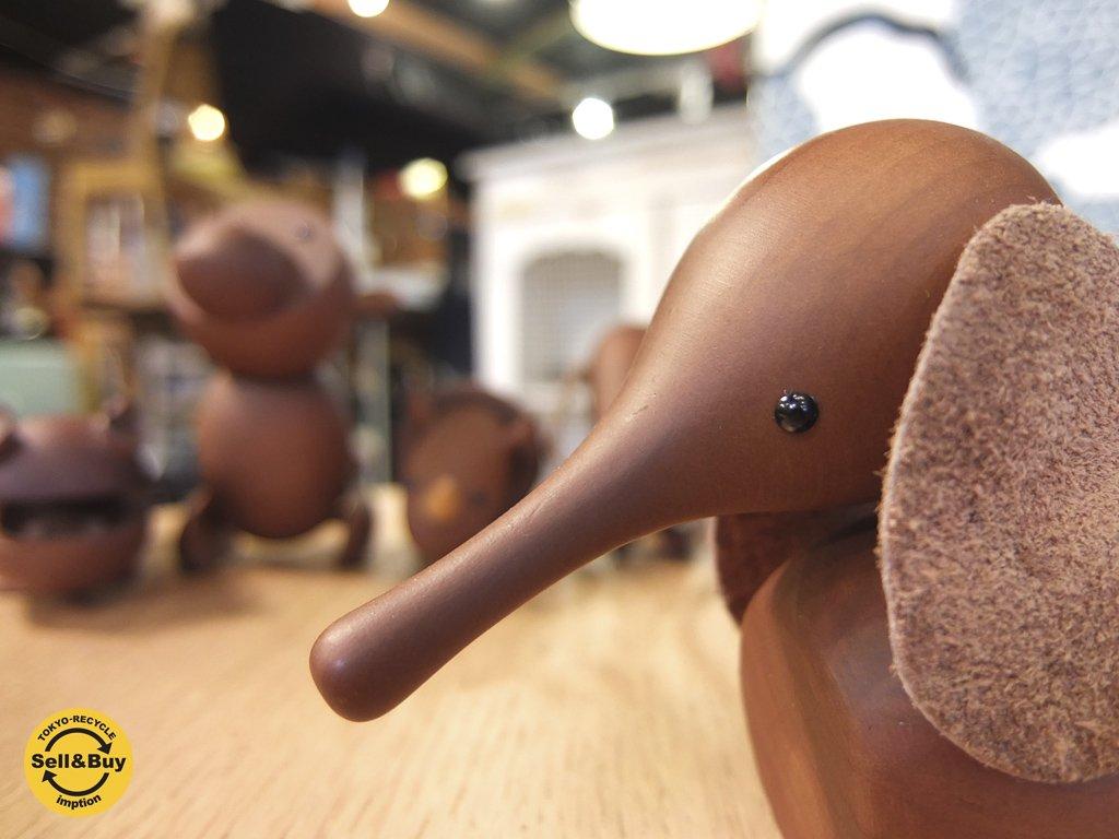 ロイヤルペット ROYALPET  ゾウ ELEPHANT 木製玩具 ♪