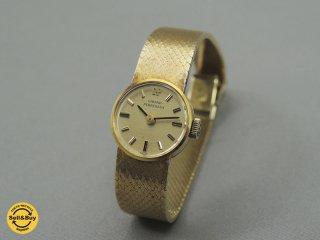 ジラールペルゴ GIRARD PERREGAUX レディース 腕時計 手巻き 18Kメッキ ●