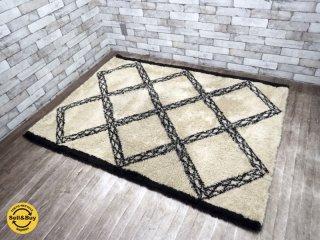 ジャーナルスタンダードファニチャー journal standard Furniture ラグマット アクリル 160×120cm ●