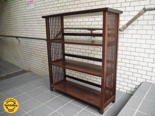 松本民芸 117型 本棚 書棚 シェルフ 国産 ミズメザクラ ■