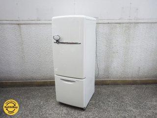 ナショナル National ウィル WiLL 冷蔵庫 165L 2007年製 最終製造年モデル ノスタルジックデザイン LED仕様 ●