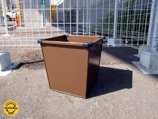 ビスレー BISLEY スチールファニチャー 廃番 ダストボックス マガジンラック ゴミ箱 スチール製 イギリス ★