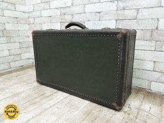アンティーク ヴィンテージ トランクケース 旅行バッグ レトロ ディスプレイ ●