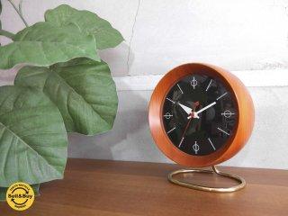 ヴィトラ vitra ジョージネルソン George Nelson クロノパック Chronopak Clock 置時計 デスククロック 希少な廃盤品 ♪