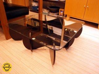 E&Y マトリックス テーブル MATRIX TABLE アンドリュー タイ センターテーブル プライウッド ダークブラウン Sサイズ ★