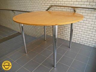 イノベーター innovator ラウンド ダイニングテーブル オーク材 110cm■