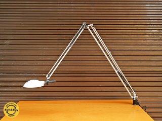 山田照明 YAMADA Zライト Z-618 ロングアーム デスクライト  クランプ式 デザイン 浅原重明 ◎