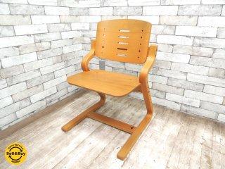 フォルミオ Formio 学習椅子 デスクチェア KF-02 GKデザイン ブナ材 デンマーク ■