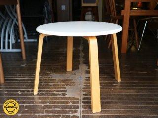 天童木工 TENDO ラウンドテーブル 廃番 プライウッド ◎
