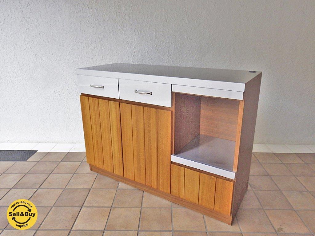 ウニコ unico ストラーダ STRADA キッチンカウンター オープン 幅120cm ◇