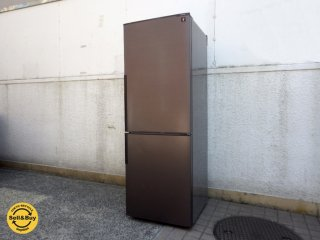 シャープ SHARP ノンフロン冷凍冷蔵庫 SJ-PD27B-T プラズマクラスター搭載 ナノ低温脱臭 2016年製 271リットル ●
