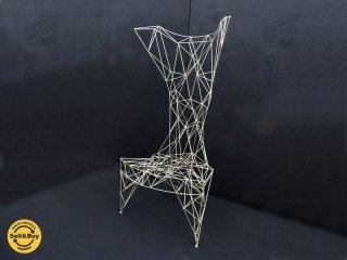 トムディクソン TOM DIXON パイロンチェア Pylon chair 90年代 ストレンジクラシック購入のオリジナル作品 ジンクカラー ●