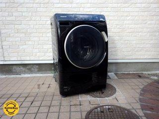 パナソニック panasonic ドラム式洗濯機 洗濯6kg 乾燥3kg NA-VD210L 2012年製 ブラック ●