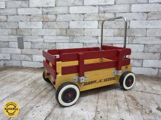 ラジオフライヤー RADIO FLYER ウォーカーワゴン Walker Wagon カート ストレージボックス 玩具 希少廃番モデル●
