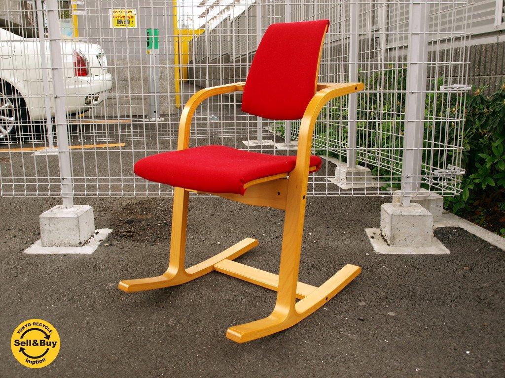 ストッケ STOKKE ヴァリエール アクチュラム バランスチェア 北欧 ロッキングチェア デスクチェア 椅子 ★