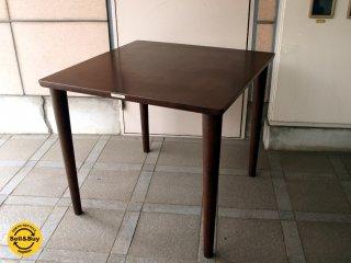 カリモク60+ Karimoku ダイニングテーブル 幅80cm モカブラウン ラバートリー ★