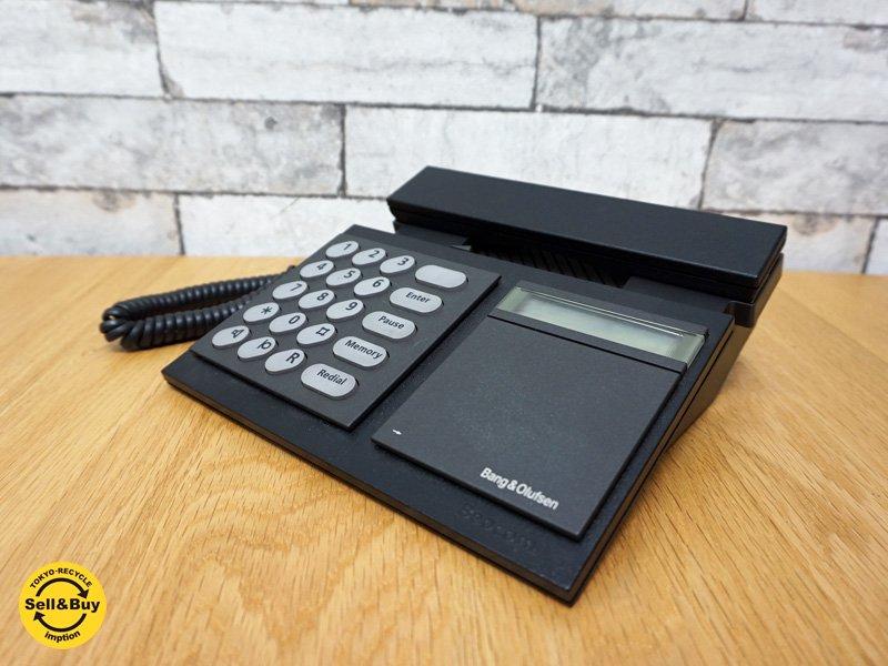 バング&オルフセン Bang&Olfsen ベオコム Beocom2000 電話機 B&O 北欧デンマーク ブラック ●