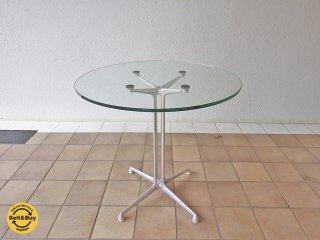 ハーマンミラー Herman Miller イームズ ラフォンダベーステーブル Eames Lafonda Base Table Φ72 廃盤希少 ◇
