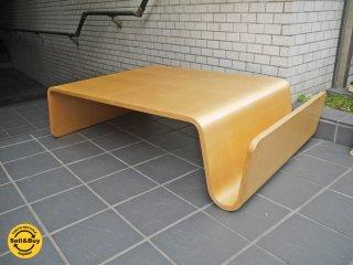 オフィー offi スキャンドゥテーブル Scando Table バーチウッド ナチュラル 廃盤 USA ■