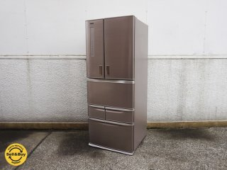 東芝 TOSHIBA 6ドア冷凍冷蔵庫 481L 2014年製 GR-G48FX 自動製氷 ●