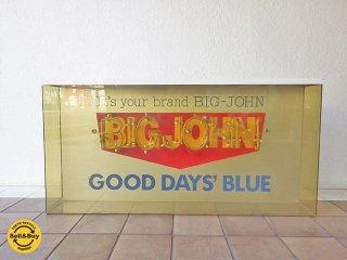 ビッグジョン BIG JOHN 大型 ネオン管 看板 ◇
