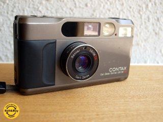 コンタックス T2 CONTAX T2 チタンブラック Carl Zeiss Sonnar 2.8/38 T 名機 動作確認済 ★