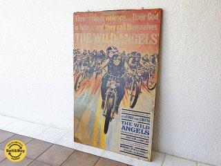 ワイルドエンジェル THE WILD ANGELS ビンテージ オリジナル ポスターボード 壁掛け ◇