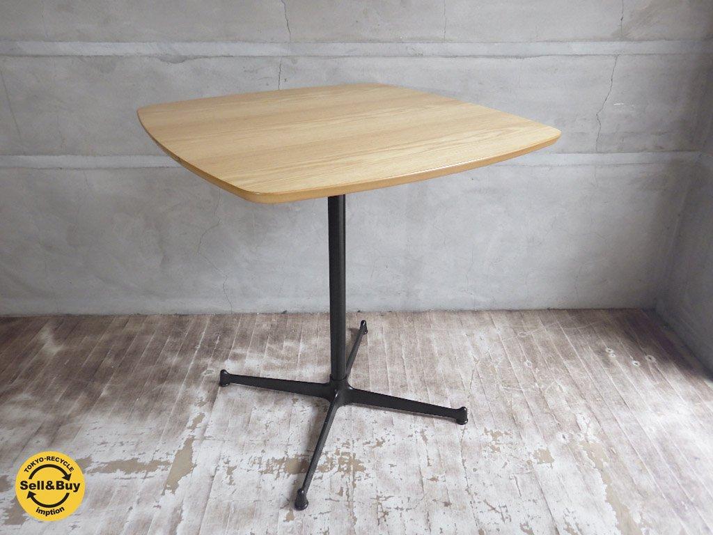 モモナチュラル MOMO natural オーク材 スクエア カフェテーブル ♪