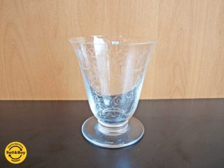 バカラ Baccarat ミケランジェロ MICHELANGELO フラワーベース 花瓶 クリスタル ガラス ★
