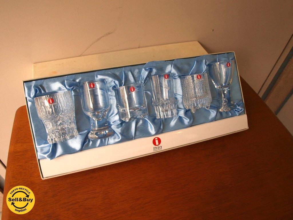 イッタラ iittala タピオ コレクションショットグラス 6ピースBOXセット ウィルカラ デザイン  フィンランド ★