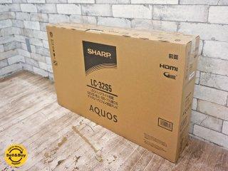 シャープ SHARP LED アクオス AQUOS 32V型 ハイビジョン液晶テレビ 2018年製 LC-32S5 Wチューナー 裏番組録画 外付HDD 対応 未使用品 箱付 ●